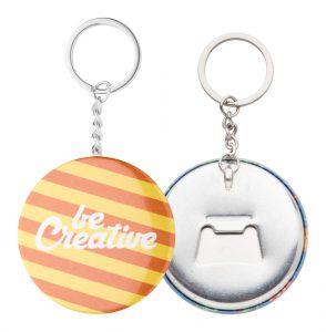 KeyBadge Bottle kulcstartós üvegnyitó