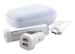 Nacorap USB töltő és power bank szett