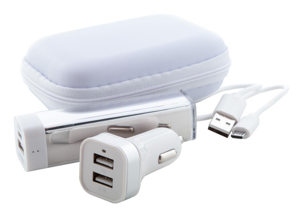 fehér Nacorap USB töltő és power bank szett|Nacorap USB töltő és power bank szett|Nacorap USB töltő és power bank szett|Nacorap USB töltő és power bank szett