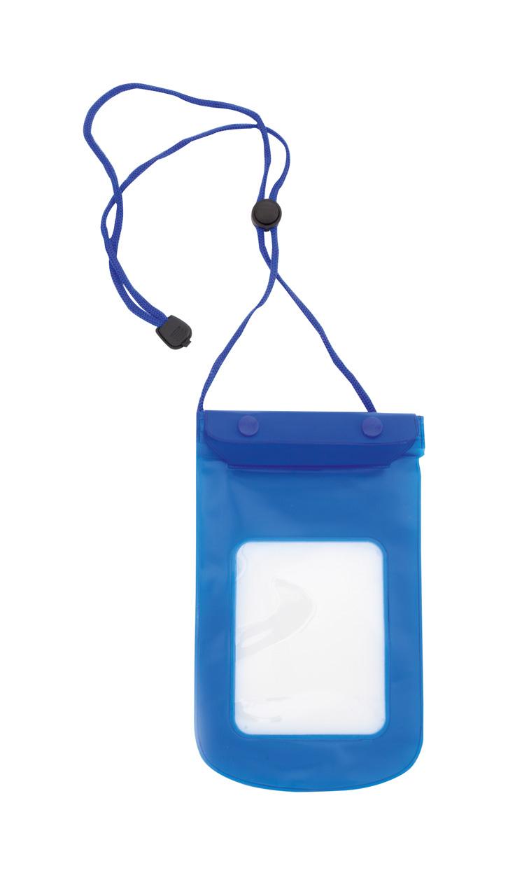 kék Tamy vízálló mobiltelefon tok