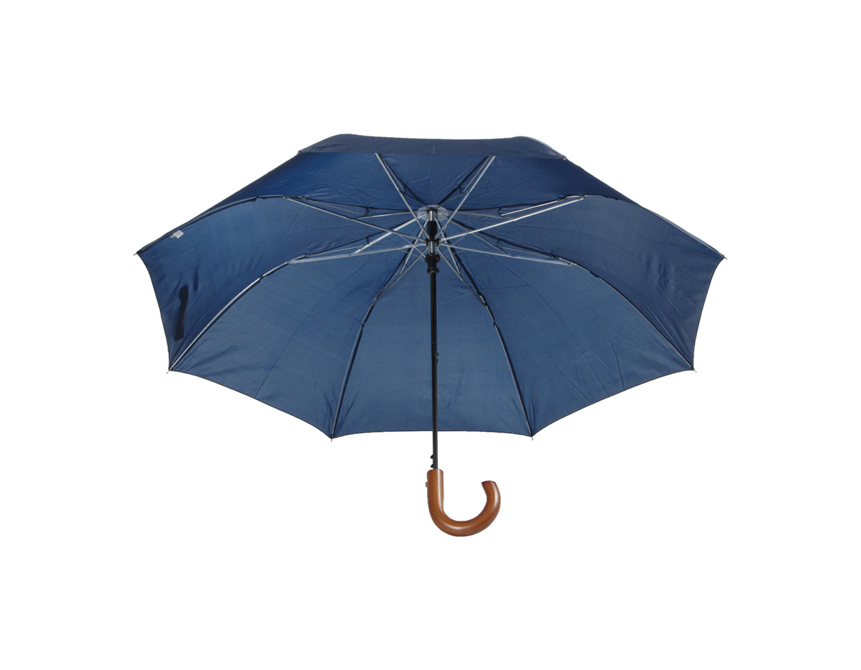kék Stansed összecsukható fanyelû esernyõ